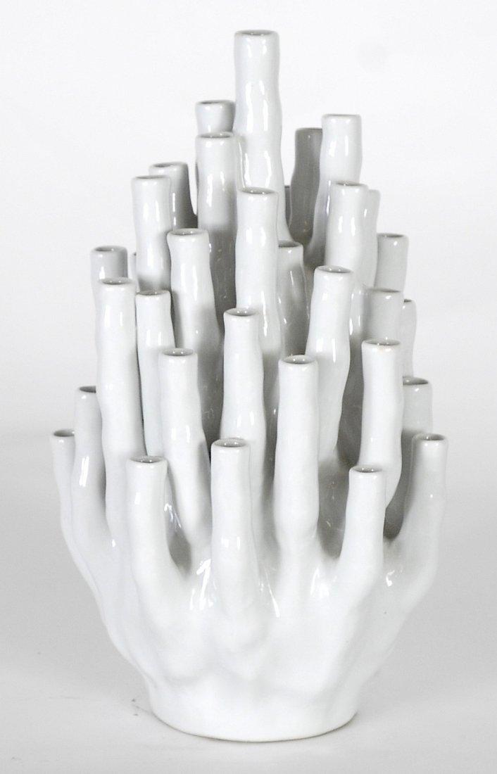 Italian ceramic bud vase