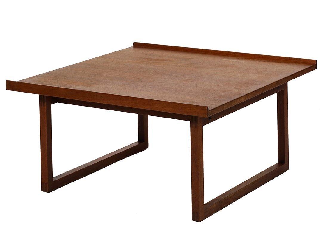 Swedish teak coffee table