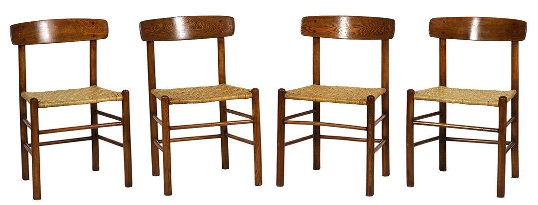Borge Mogensen dining chairs (4)