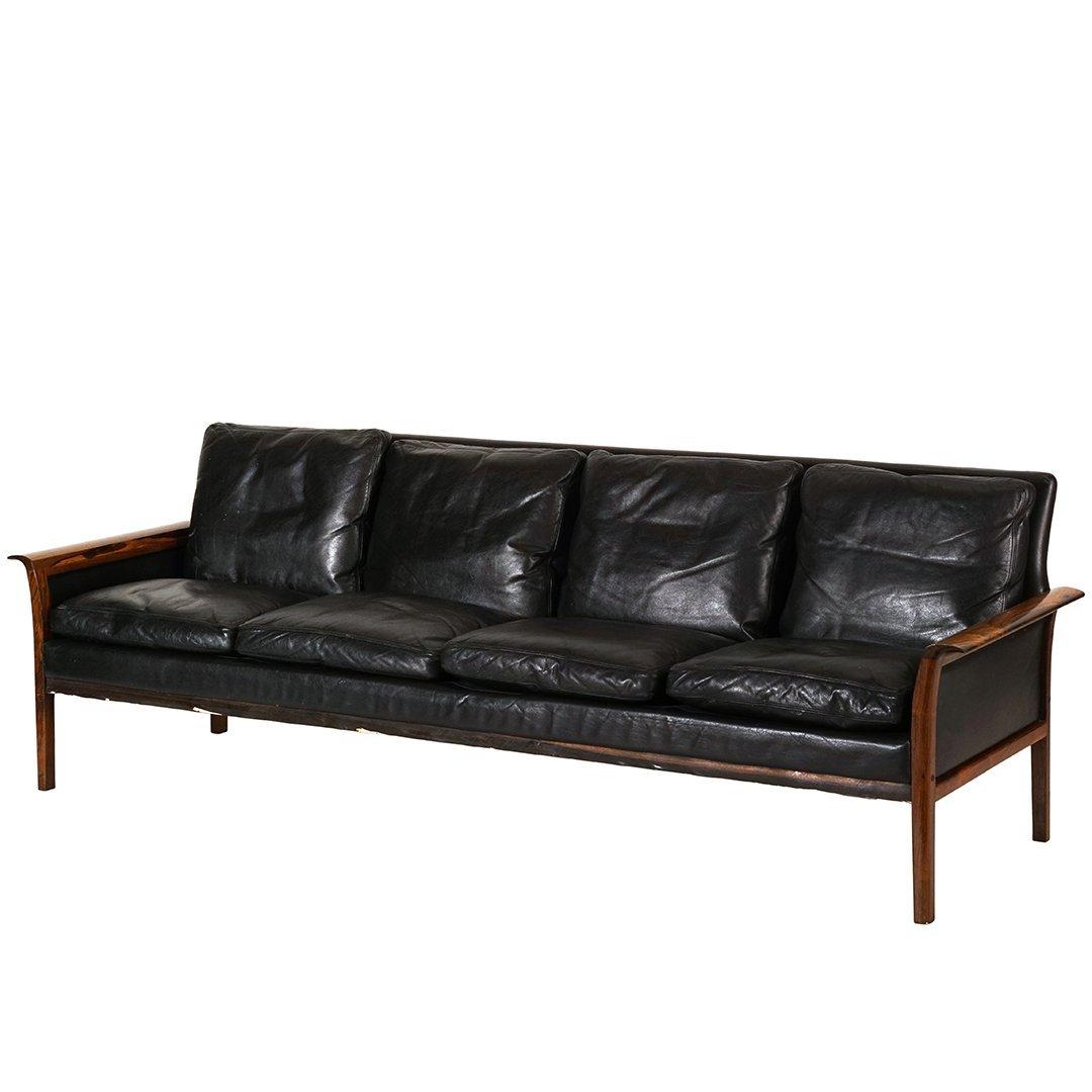 Hans Olsen rosewood sofa
