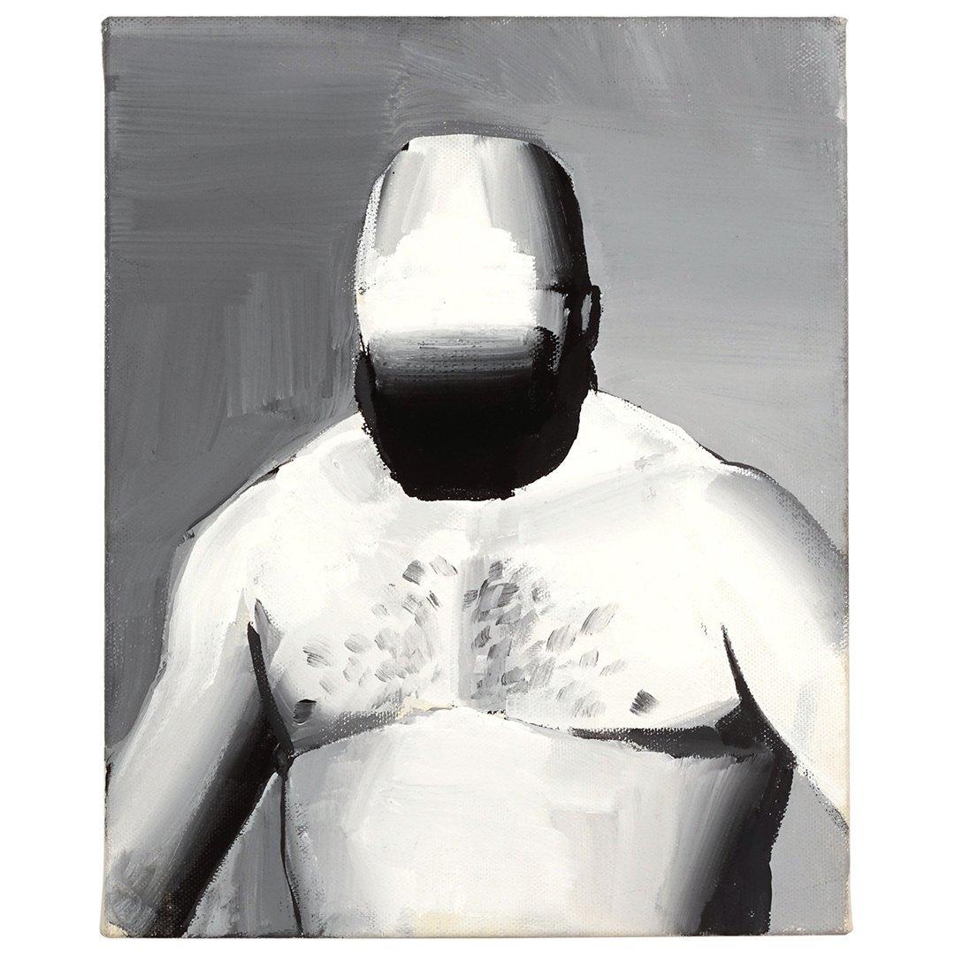 Tomoo Gokita Retirement oil on canvas