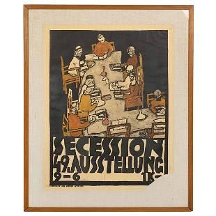 Egon Schiele Secession Poster