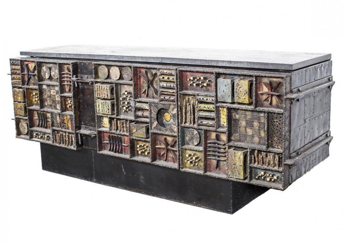 Paul Evans sculpted front cabinet
