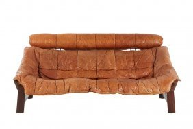 Percival Lafer Patchwork Sofa