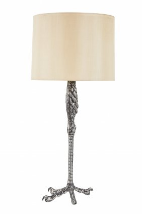 Ostrich Leg Table Lamp