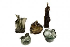 Robert Fritz Glass Sculptures (5)