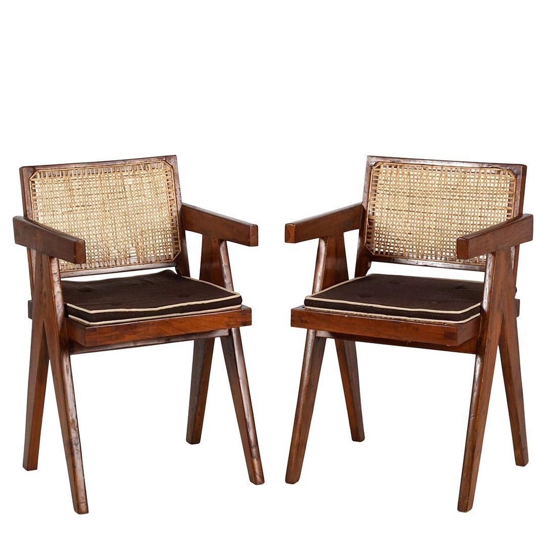 Pierre Jeanneret armchairs (2)