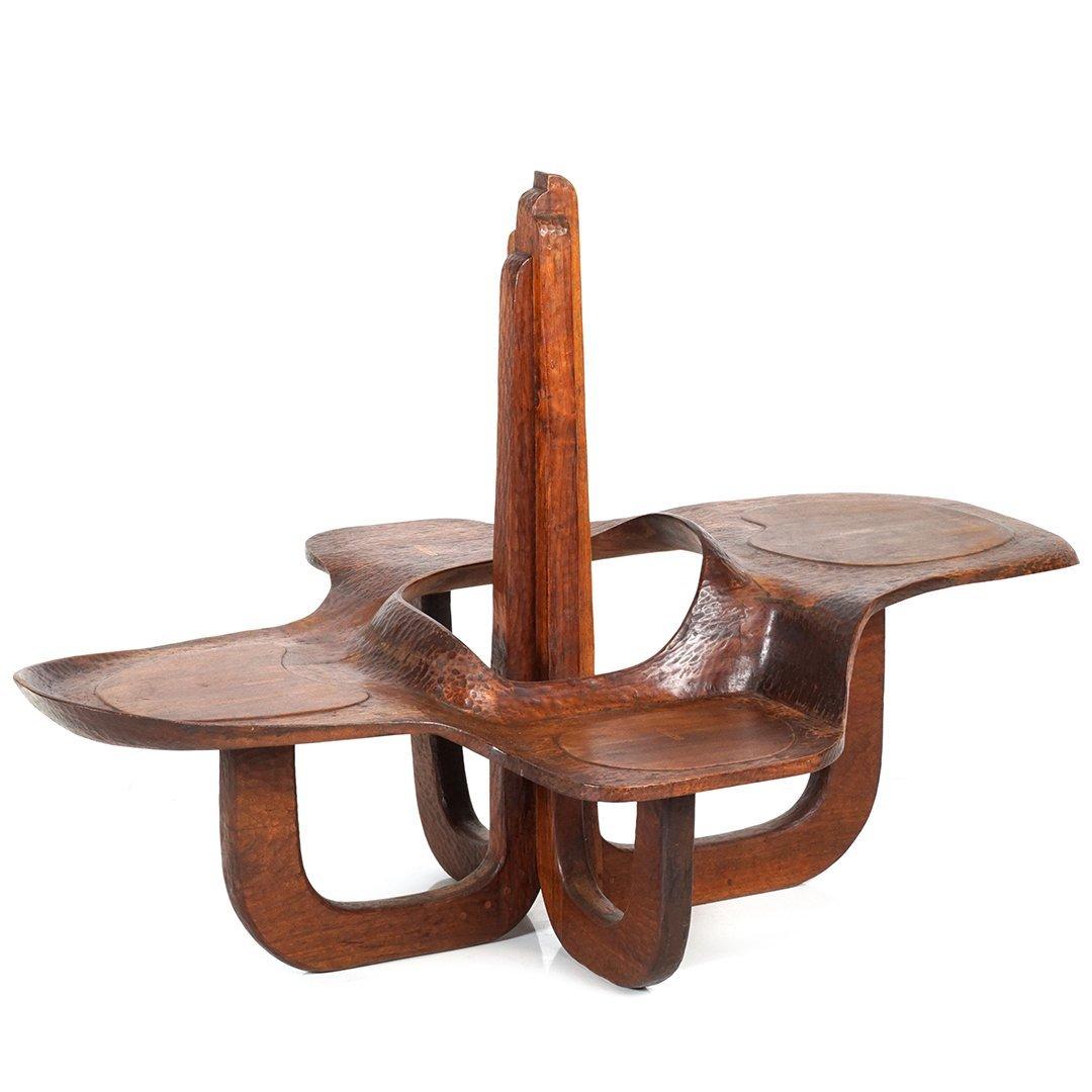 Craftsmen walnut table