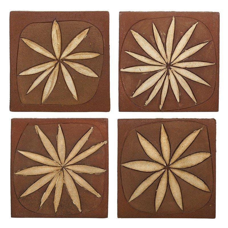 Stan Bitters stoneware tiles (4)
