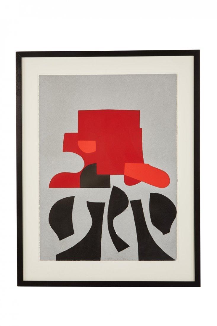 Peter Voulkos lithograph