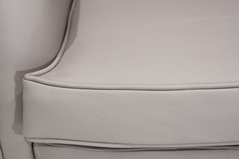 Sculptural leather armchairs (2) - 8