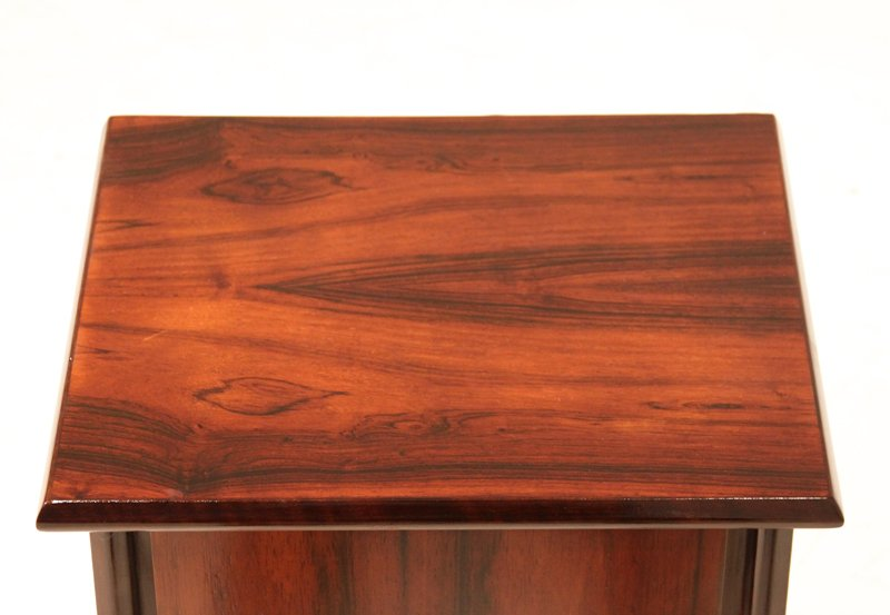 Petite rosewood side tables (2) - 7
