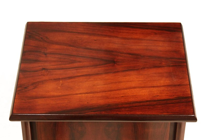 Petite rosewood side tables (2) - 8