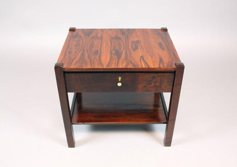 Brazilian rosewood side table - 3