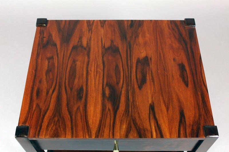 Brazilian rosewood side table - 8