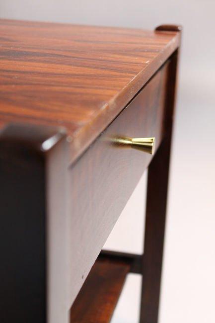 Brazilian rosewood side table - 9