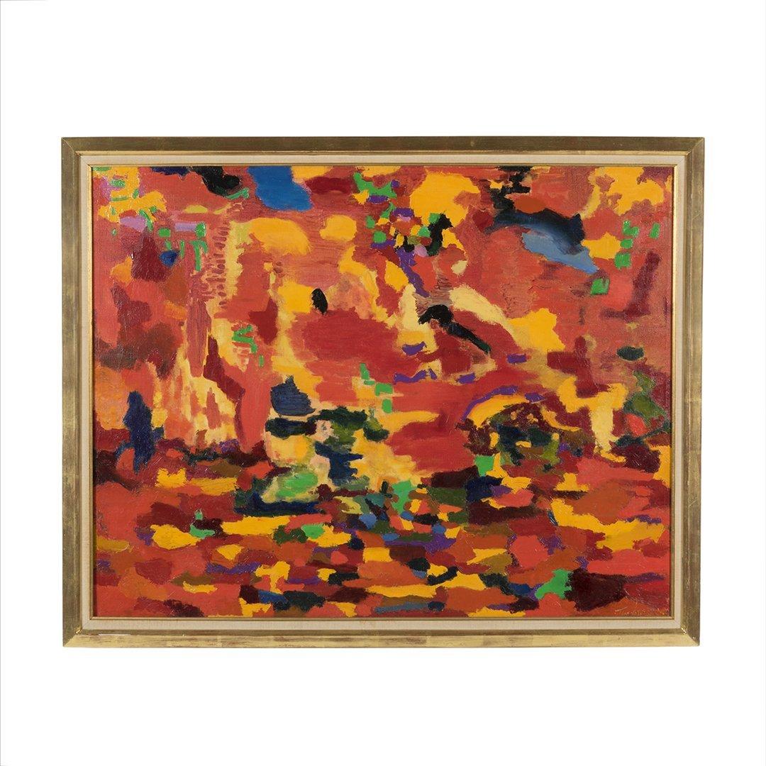 Hansen abstract painting