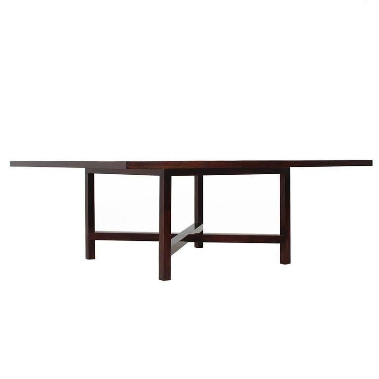 Rosewood dining table - 2