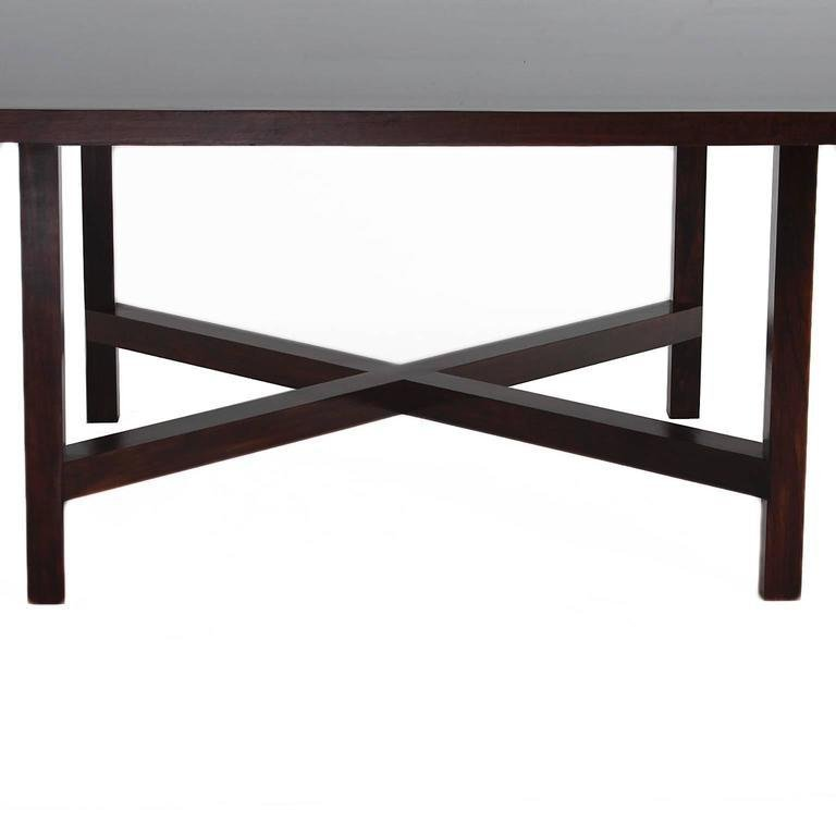 Rosewood dining table - 5
