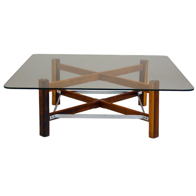 Brazilian rosewood coffee table