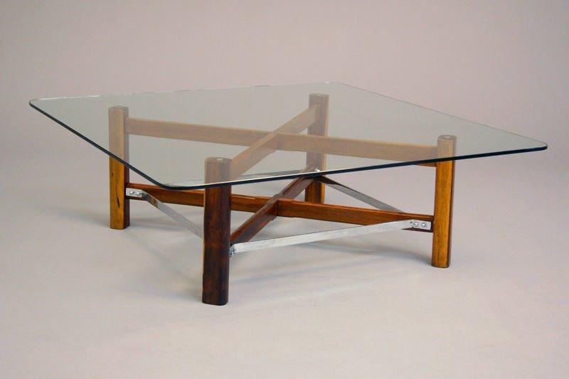 Brazilian rosewood coffee table - 2