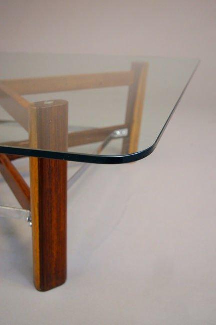 Brazilian rosewood coffee table - 5