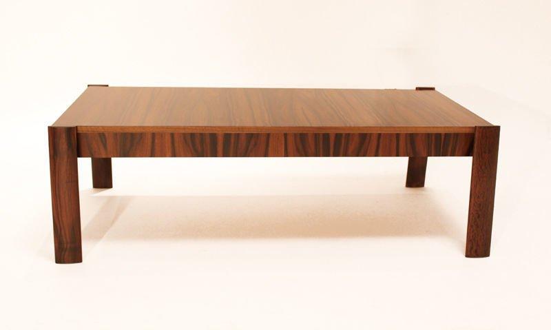Brazilian rosewood coffee table - 3