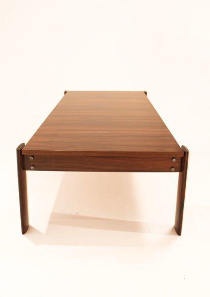 Brazilian rosewood coffee table - 4