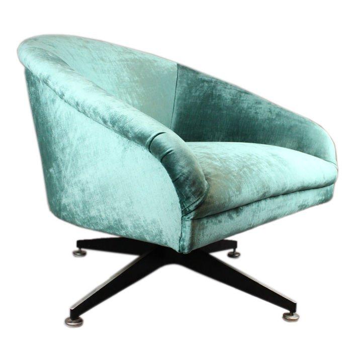 Ward Bennett swivel chair