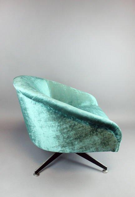 Ward Bennett swivel chair - 4