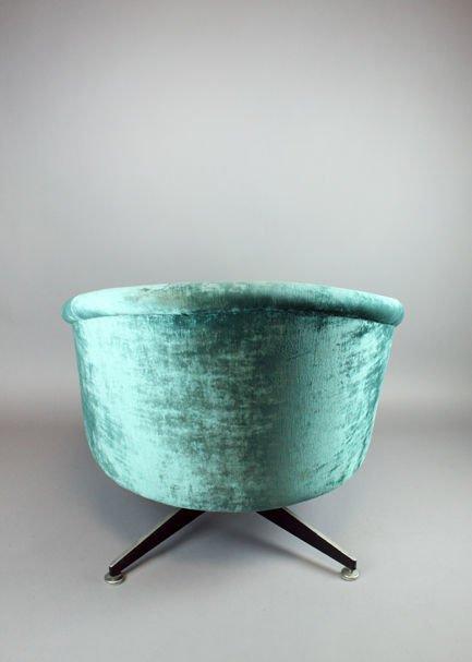 Ward Bennett swivel chair - 5