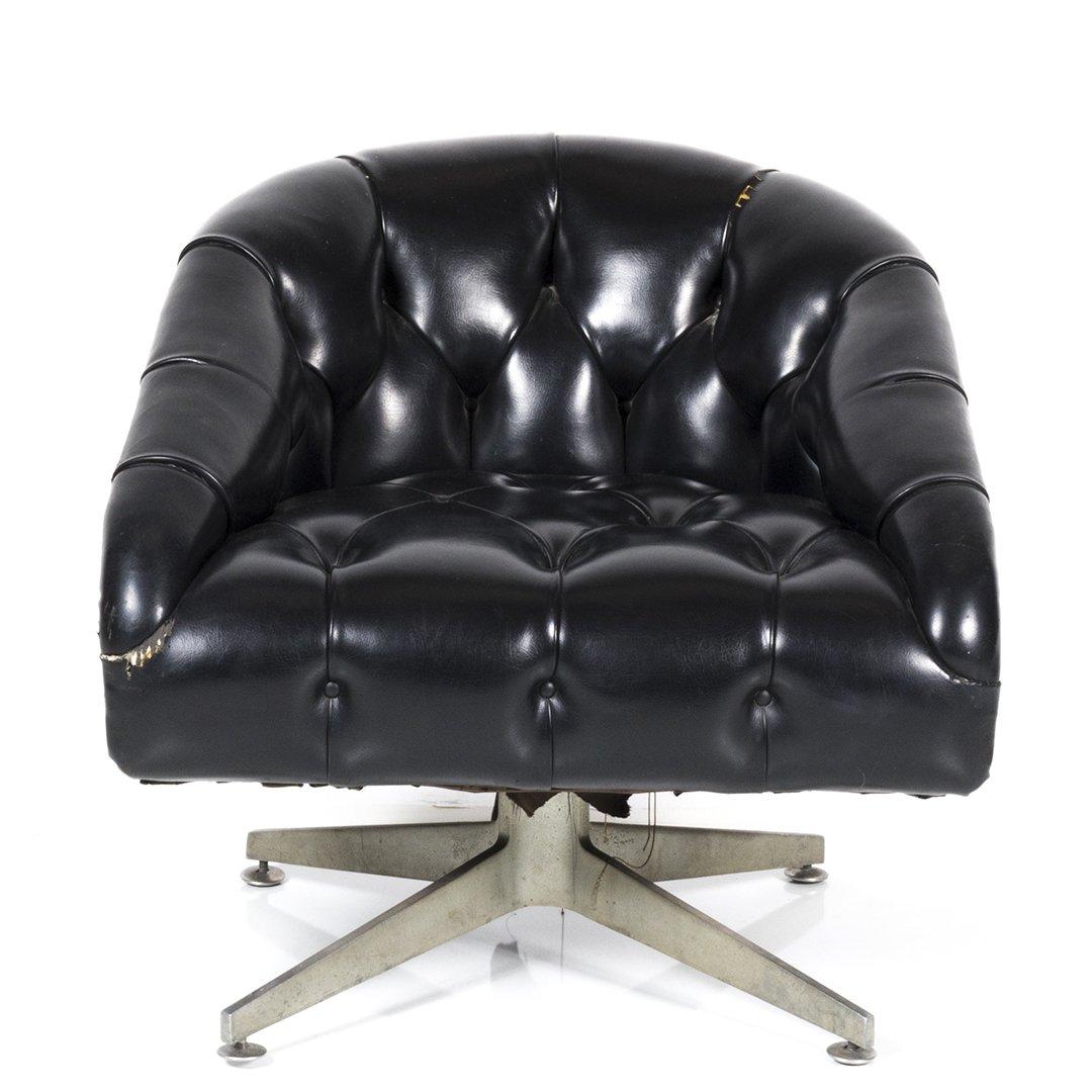 Ward Bennett swivel chair - 2