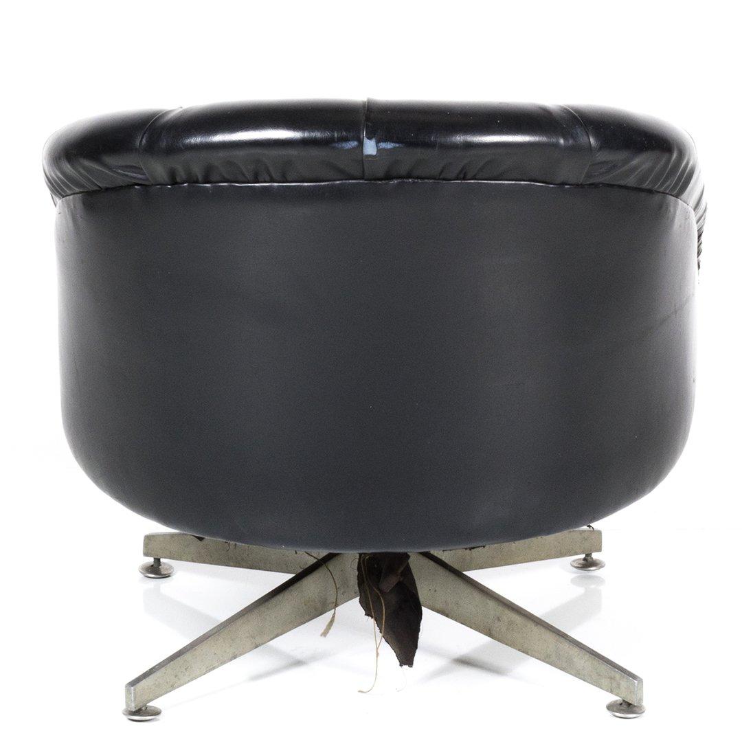 Ward Bennett swivel chair - 3