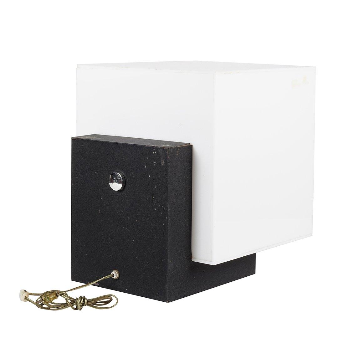 Acrylic cube floor lamp - 3
