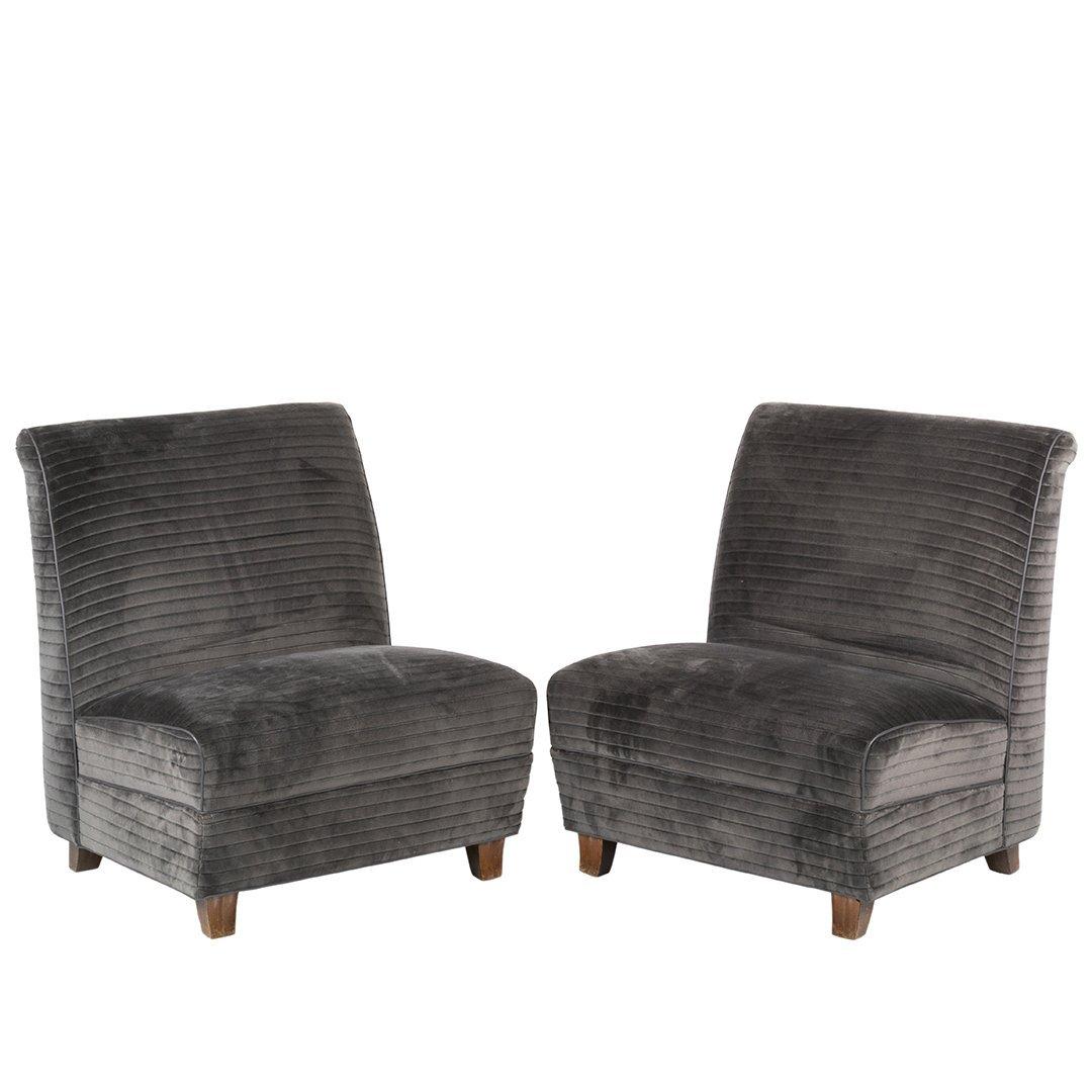 Eugene Schoen custom slipper chairs (2)