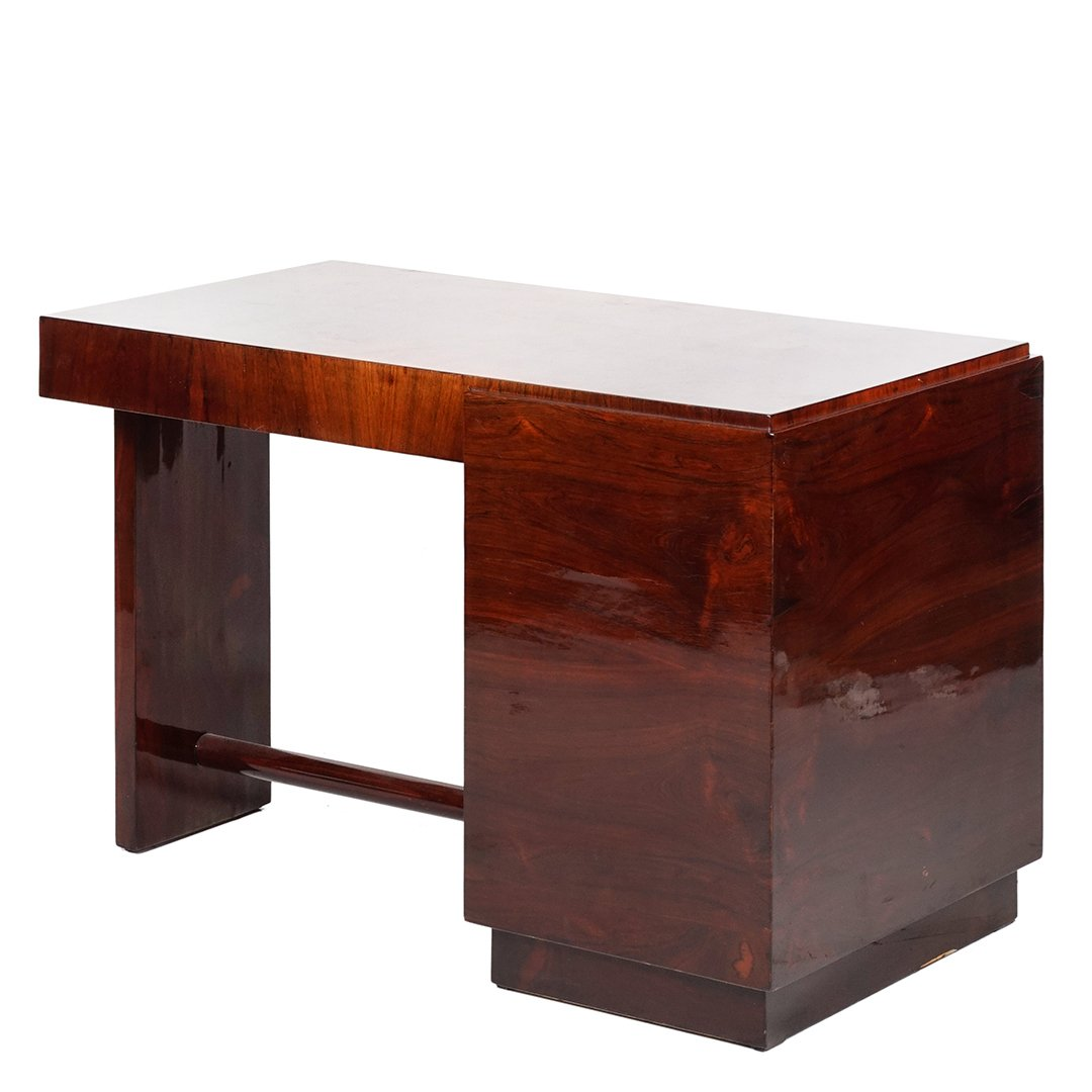 Art Deco rosewood desk - 2