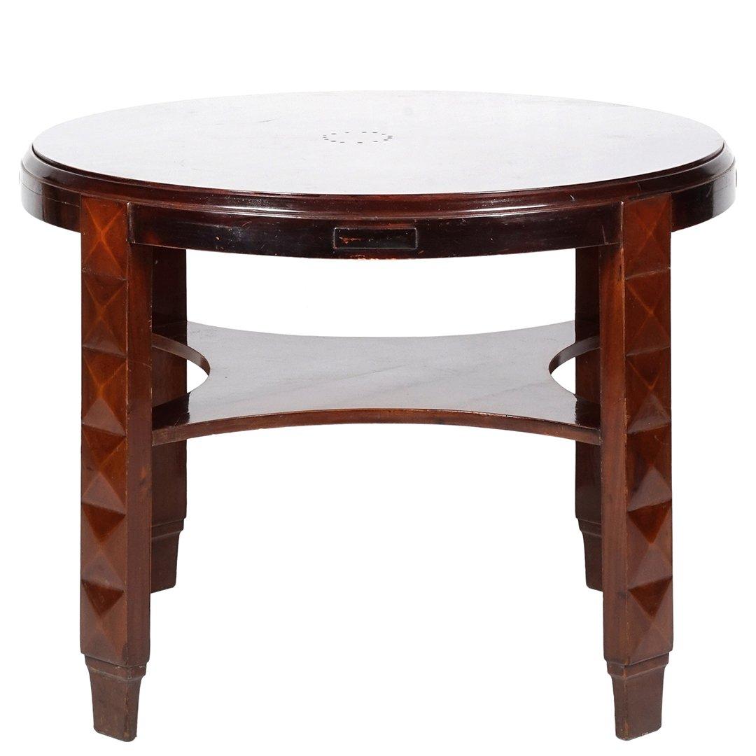 Mahogany entry table - 2