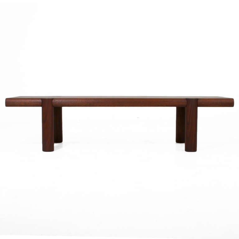 Sherrill Broudy exotic hardwood bench - 3