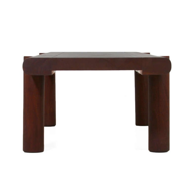 Sherrill Broudy exotic hardwood bench - 4