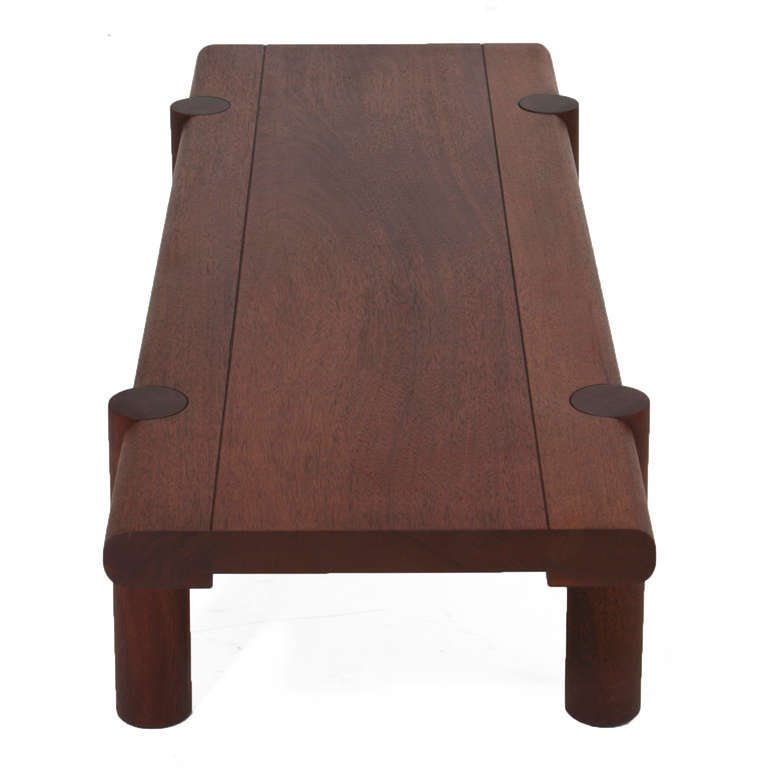 Sherrill Broudy exotic hardwood bench - 5