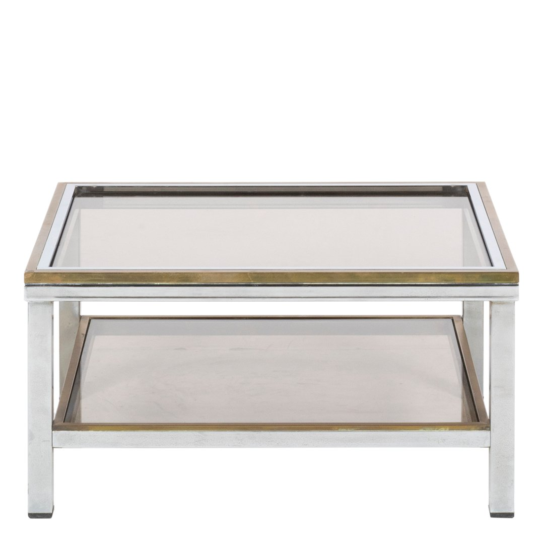 Willy Rizzo brass cocktail table - 2