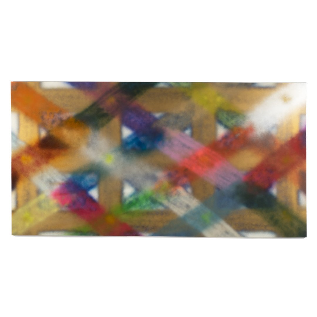 Richard M. Jouharian monumental 8' abstract painting
