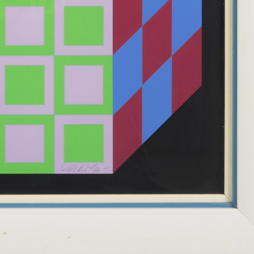 Victor Vasarely print - 2