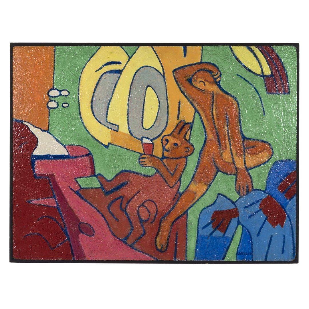 Ann Lederer abstract painting