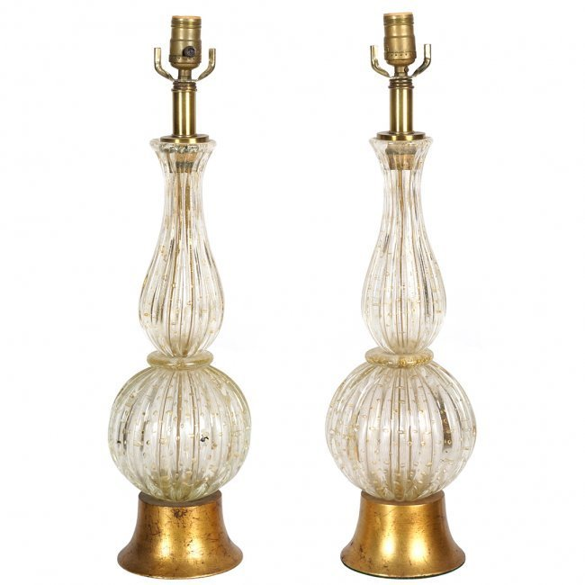 Barovier and Toso table lamps (2)