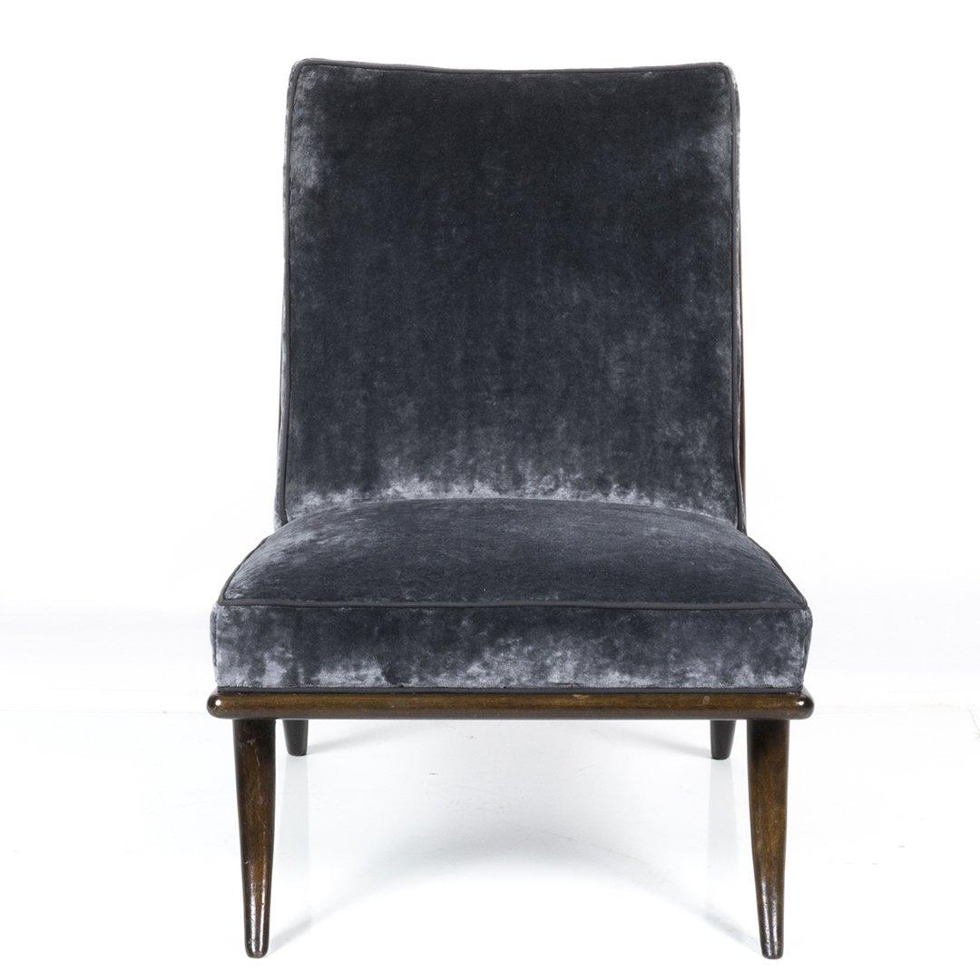 T.H. Robsjohn-Gibbings slipper chair - 2