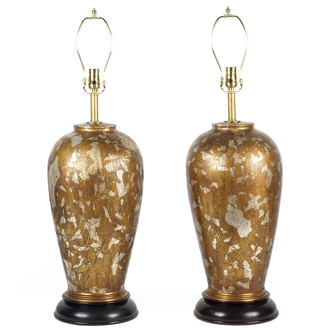 Marbro table lamps (2)