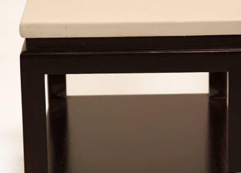 Paul Frankl cork end table - 3