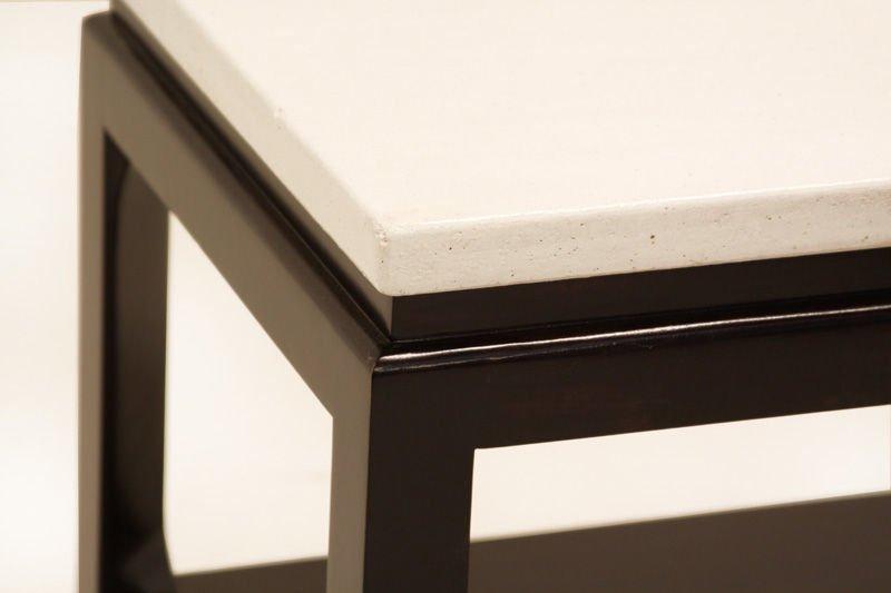Paul Frankl cork end table - 4