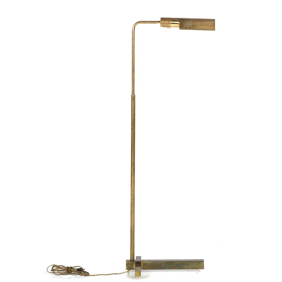 Casella brass floor lamp - 2